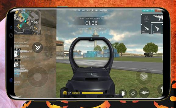 Guide for Free Fire New 2018 screenshot 1