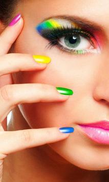 Nail Salon Designs Wallpapers poster