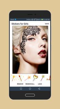 Sticker Photo Editor for Girls - Fashion Girls poster