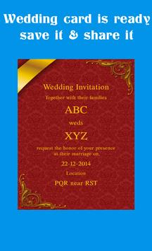 Wedding card maker apk download free lifestyle app for android wedding card maker apk screenshot stopboris Choice Image
