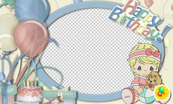 Birthday Photo Frames Kids screenshot 1