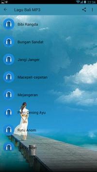 LAGU BALI MP3 screenshot 8