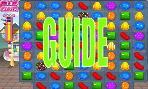 "GUIDE ""Candy Crush SAGA tips poster"