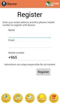 Bazzar apk screenshot