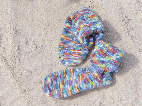Sock knitting with needles apk screenshot