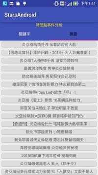 明星紅不紅 apk screenshot