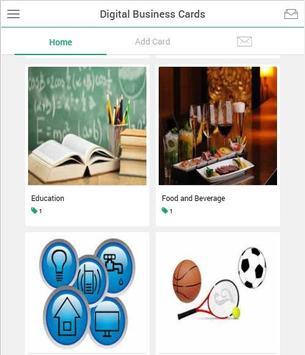Digital business card apk download free business app for android digital business card poster digital business card apk screenshot colourmoves