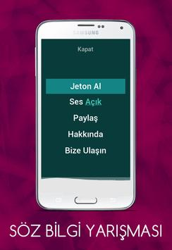 Söz Bilgi Yarışması screenshot 1