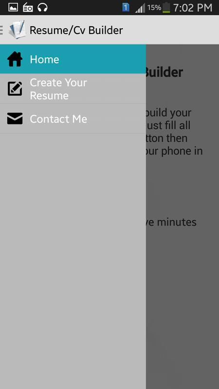my resume cv builder apk download free education app for android