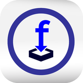 video download for facebook icon