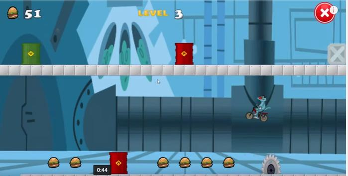 Oggy racing and jump apk screenshot