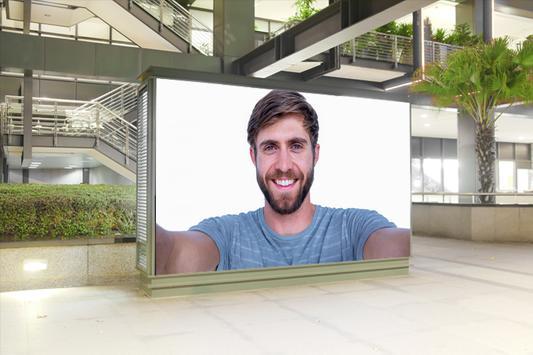 صورتك على لوحة اعلانات apk screenshot