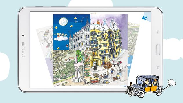 Kids Discover Barcelona & Gaudi puzzle & painting screenshot 8