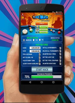 Cheat for 8 Ball Pool Tool : Prank poster