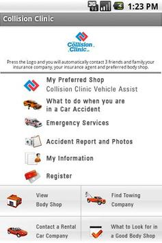 Collision Clinic poster