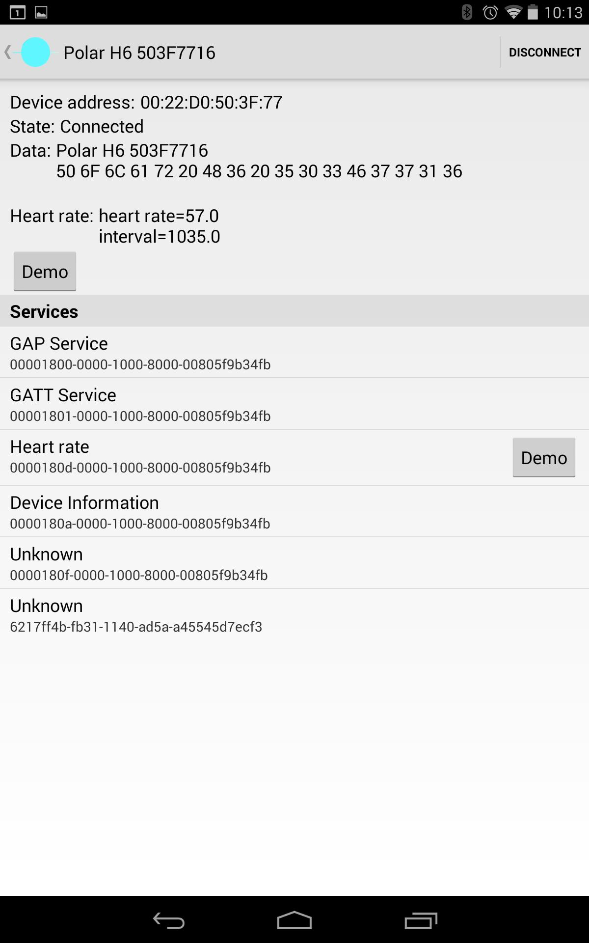 BLE Heart rate variability for Android - APK Download