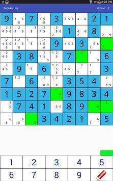 Sudoku Lite apk screenshot