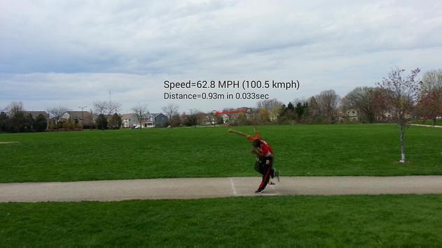 Ball Speed Radar Gun Baseball poster