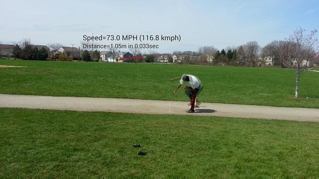 Ball Speed Radar Gun Baseball screenshot 4