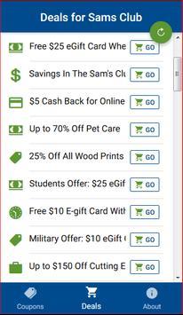sams club coupons