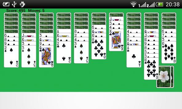 Spider Solitaire Windows apk screenshot