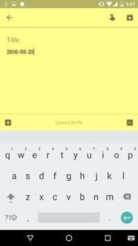 Momentary Keyboard screenshot 1