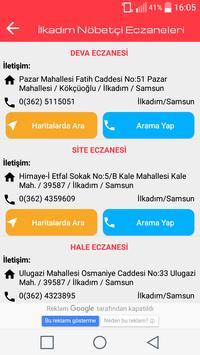 Samsun Nöbetçi Eczaneleri screenshot 3
