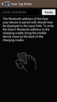 Samsung GALAXY NFC Tagwriter poster