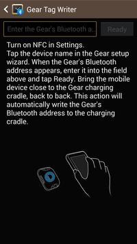 Samsung GALAXY NFC Tagwriter screenshot 1