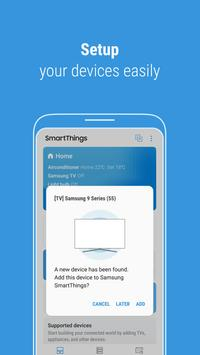 SmartThings (Samsung Connect) Cartaz