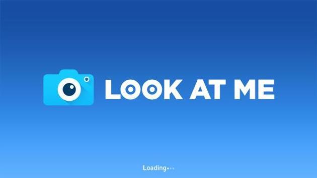 Samsung LOOK AT ME الملصق
