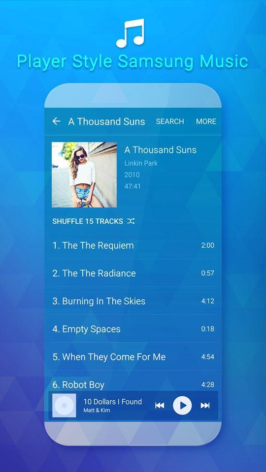 Mp3 Player For SS Galaxy for Android - APK Download