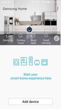 Samsung Smart Home 海報