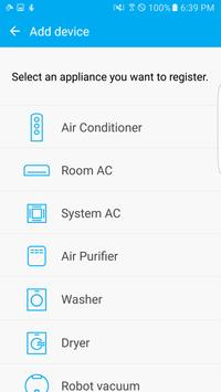 Samsung Smart Home screenshot 1