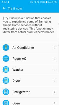 Samsung Smart Home screenshot 3