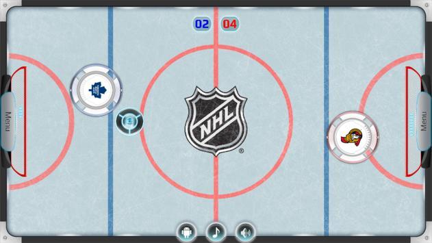 NHL Air Hockey poster