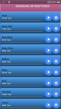 Stock Ringtone Samsung s8 and S8+ screenshot 5