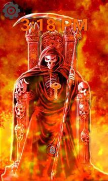 Lock Screen - Hell Grim Reaper apk screenshot