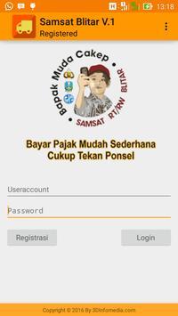 Admin Samsat RTRW poster