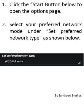 Network Switcher - LTE/3G/2G screenshot 1