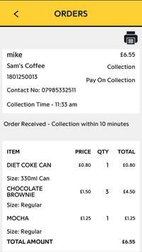 H&J Ordering screenshot 3