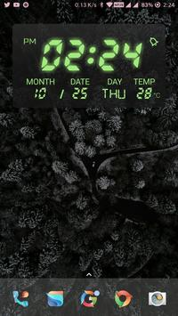Digital KWGT Widget screenshot 4