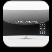 Remote controller samsung TV icon