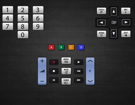 Remote controller samsung TV poster