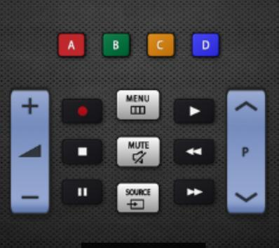 Remote controller samsung TV screenshot 14