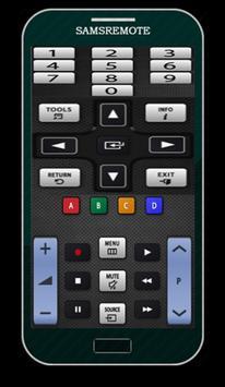 Remote controller samsung TV screenshot 7