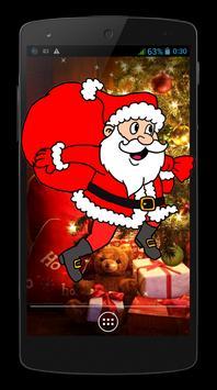 Santa Claus In Screen poster