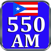 AM 550 Radio AM Radio AM Puerto Rico Radio AM 550 icon