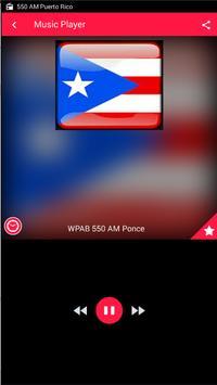 AM 550 Radio AM Radio AM Puerto Rico Radio AM 550 screenshot 1