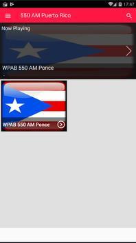 AM 550 Radio AM Radio AM Puerto Rico Radio AM 550 screenshot 2